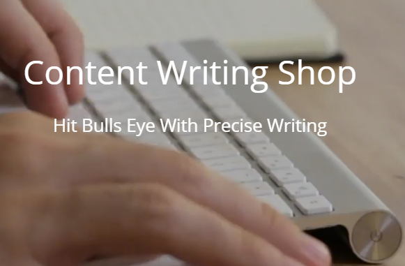 content writing shop